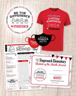 Logo Design, Shirt, Mask, Newsletter + Certificate