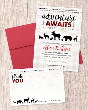 Baby Shower Invitation Package