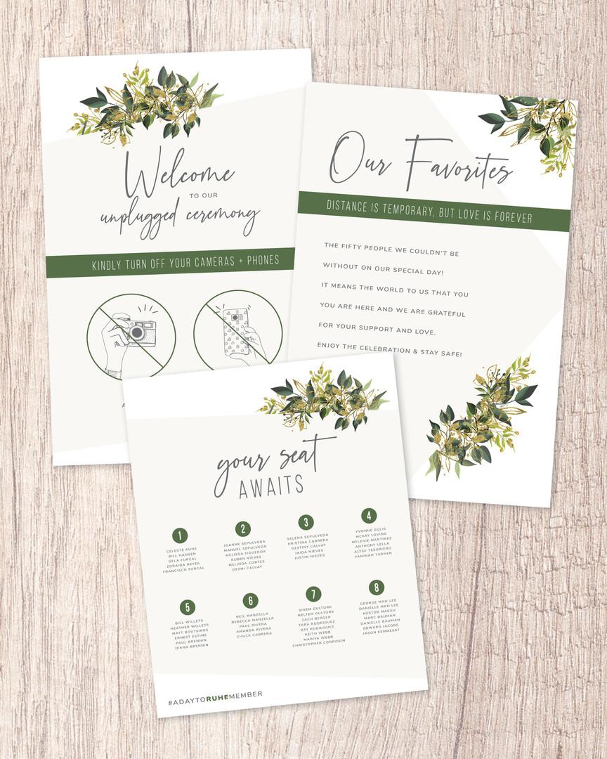 Wedding Reception Signs