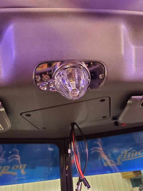 06 and newer Pete 389 Center Console light