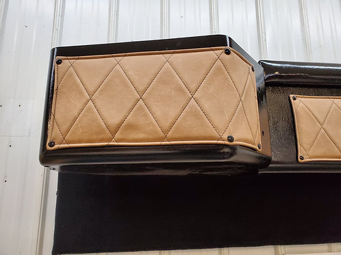 Kw Bunk  front cabinet snap cover set.