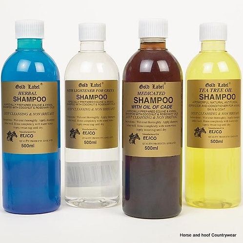 Gold Label Shampoos