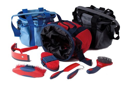 Grooming Bag with Brushes