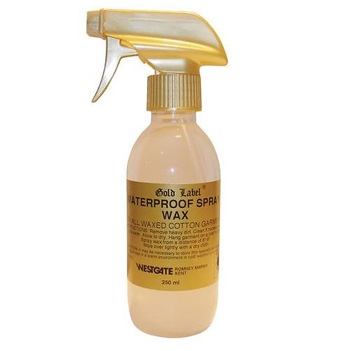 Gold Label Waterproof Spray Wax