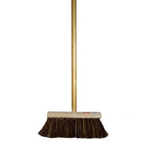 "10"" Yard Broom with Natural Filling"
