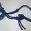 Thumbnail: Two-tone Rope Halter