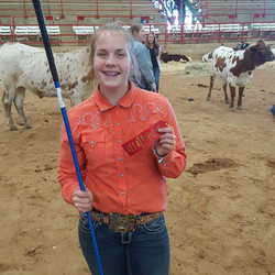2nd in Showmanship at Athens
