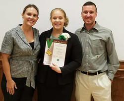 Congrats on your 4-H Gold Star!
