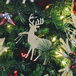 Holiday Theme with Deer