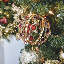 Royal Red & Gold Christmas Theme