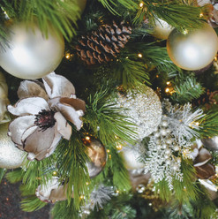 Pinecone Neutral Holiday Theme
