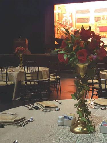 Floral Rental for Formal Event
