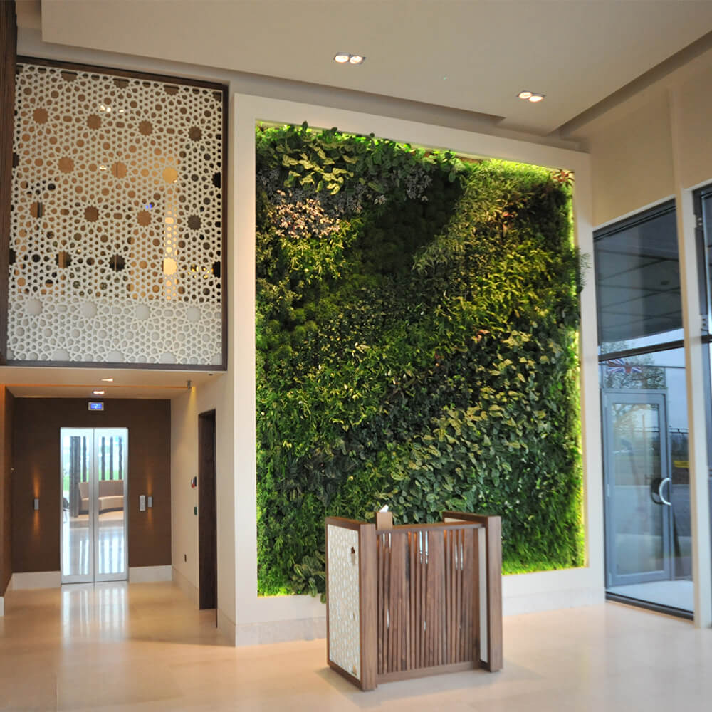 Green Living Wall Green Oasis