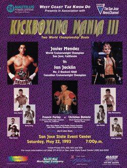 World Title Fight Poster