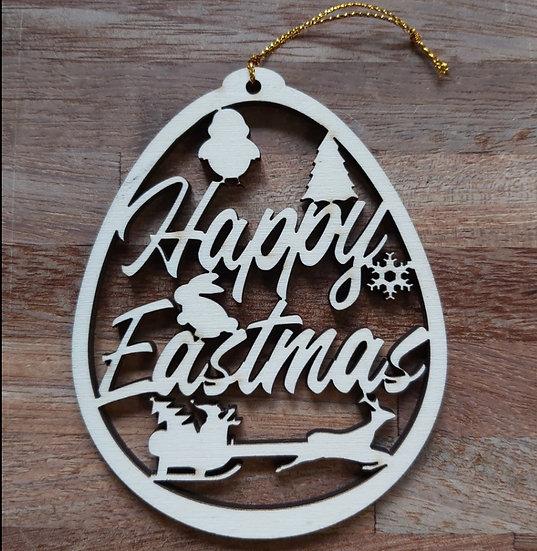 Eastmas Easter Egg Shape Decoration Christmas at Easter