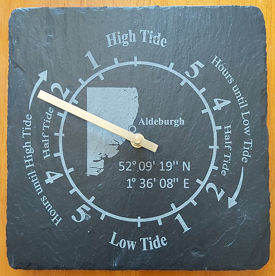 Personalised Tide Clock Tidal Indicator Clock