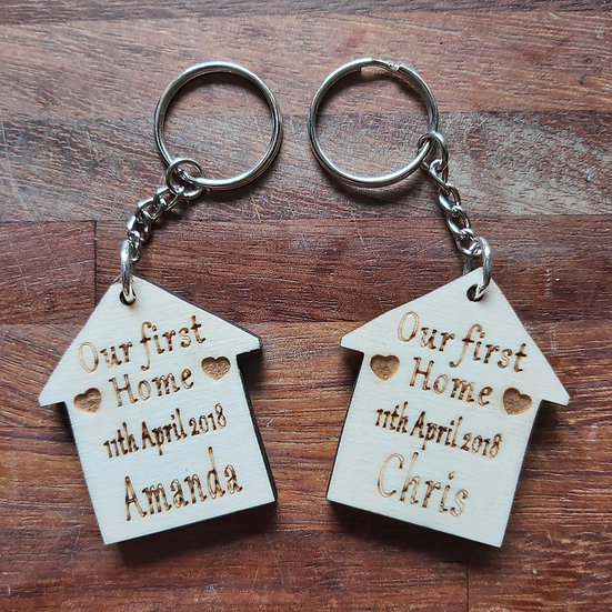 First home together keyrings