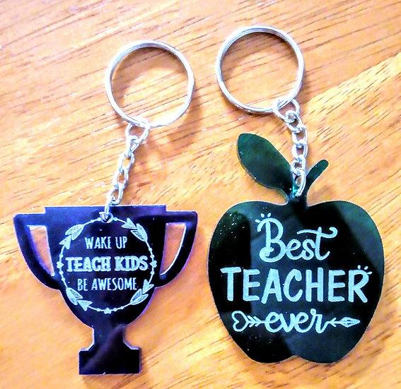 Teacher Keyring