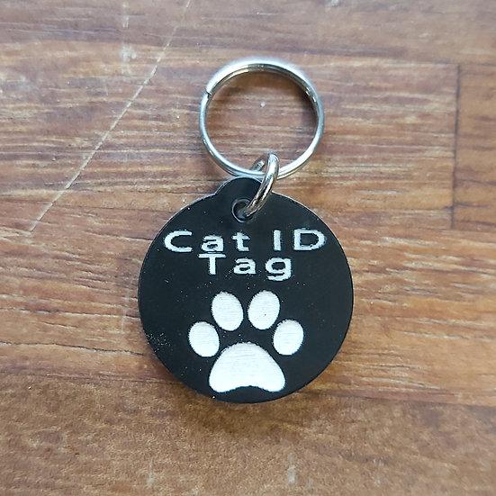 Cat ID tag