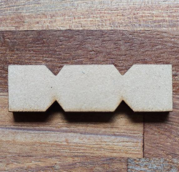 Pack of 10 MDF Cracker
