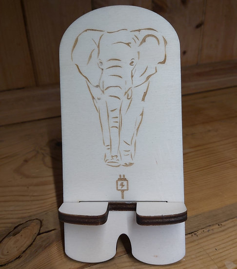 Elephant mobile phone stand