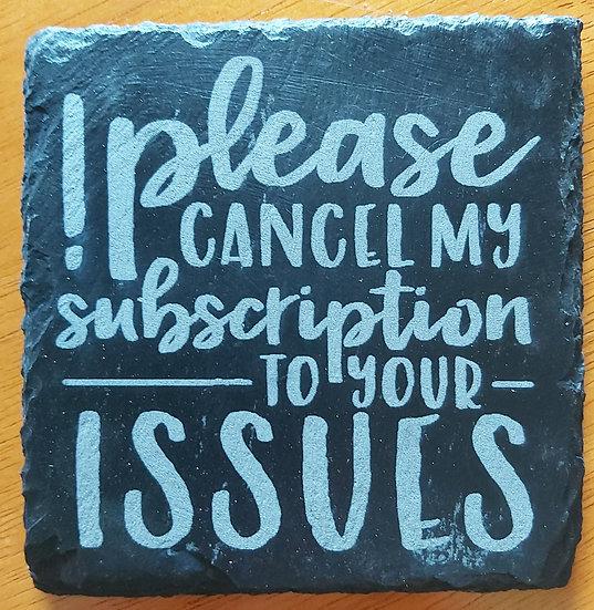 Coaster - Cancel subscription