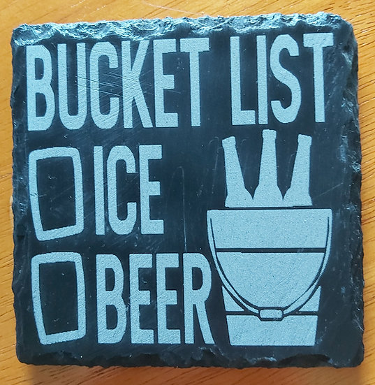 Coaster - Bucket list