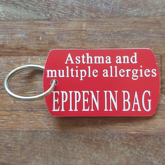 Allergies Epipen In Bag Fob