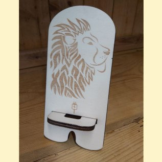 Lion mobile phone stand