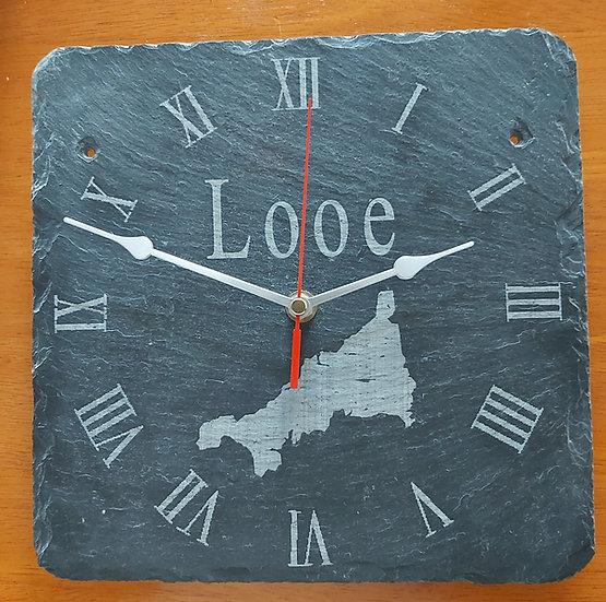 Cornwall Clock Personalised  Location Version