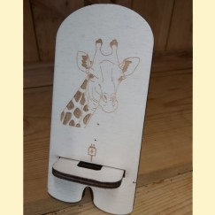 Giraffe mobile phone stand