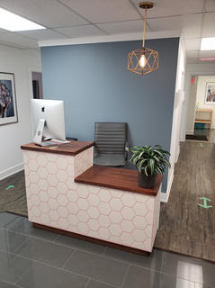 Bloom Integrated Health - Reception Desk