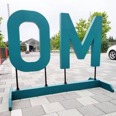 City of OM - Yoga Festival Signage