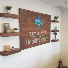 Tay River Health Centre - Reception Sign