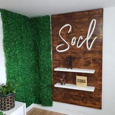 Socl Media Office Sign