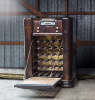 Radio Wine Rack