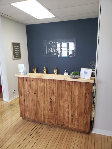 Embrun Massage Therapy - Reception Desk