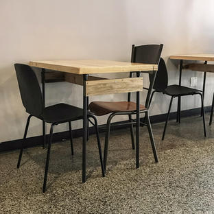 Happy Goat Cafe Tables