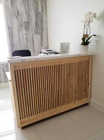 Reception Desk for Glebe Osteopathy
