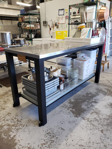 Michael's Dolce Work Table Refurbish