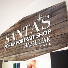 Hazeldean Mall - Santa Sign