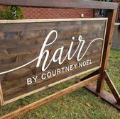 Hair by Courtney Noel