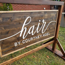 Hair By Courtney - Business Sign