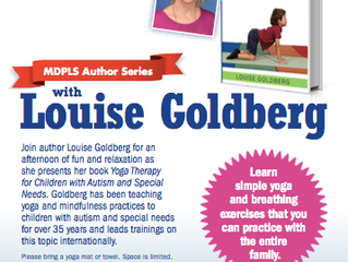 MDPLS Author Series with Louise Goldberg