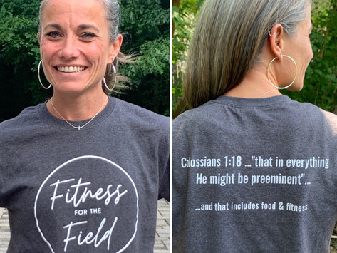 Fitness for the Field T-shirts