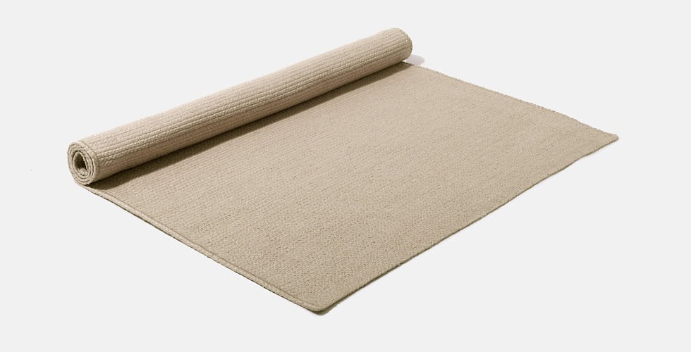Made to order natural eco friendly rugs ethically handwoven from 100% raw jute