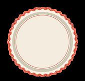 Placa círculo