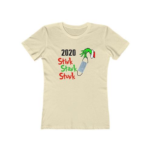 2020 Stink Stank Stunk - Women's The Boyfriend Tee