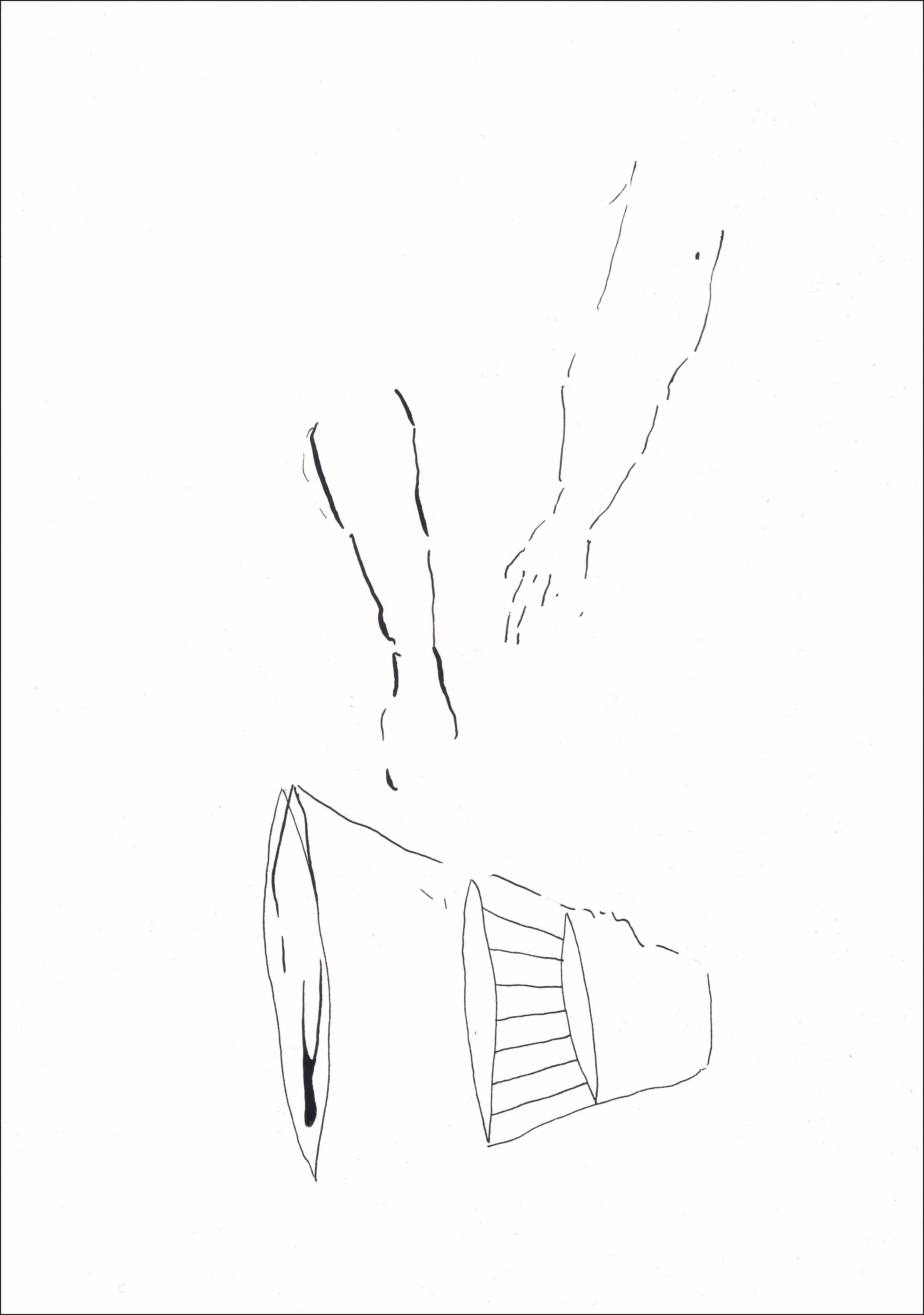 L CHAOUAT dessin 14 21x30 cm