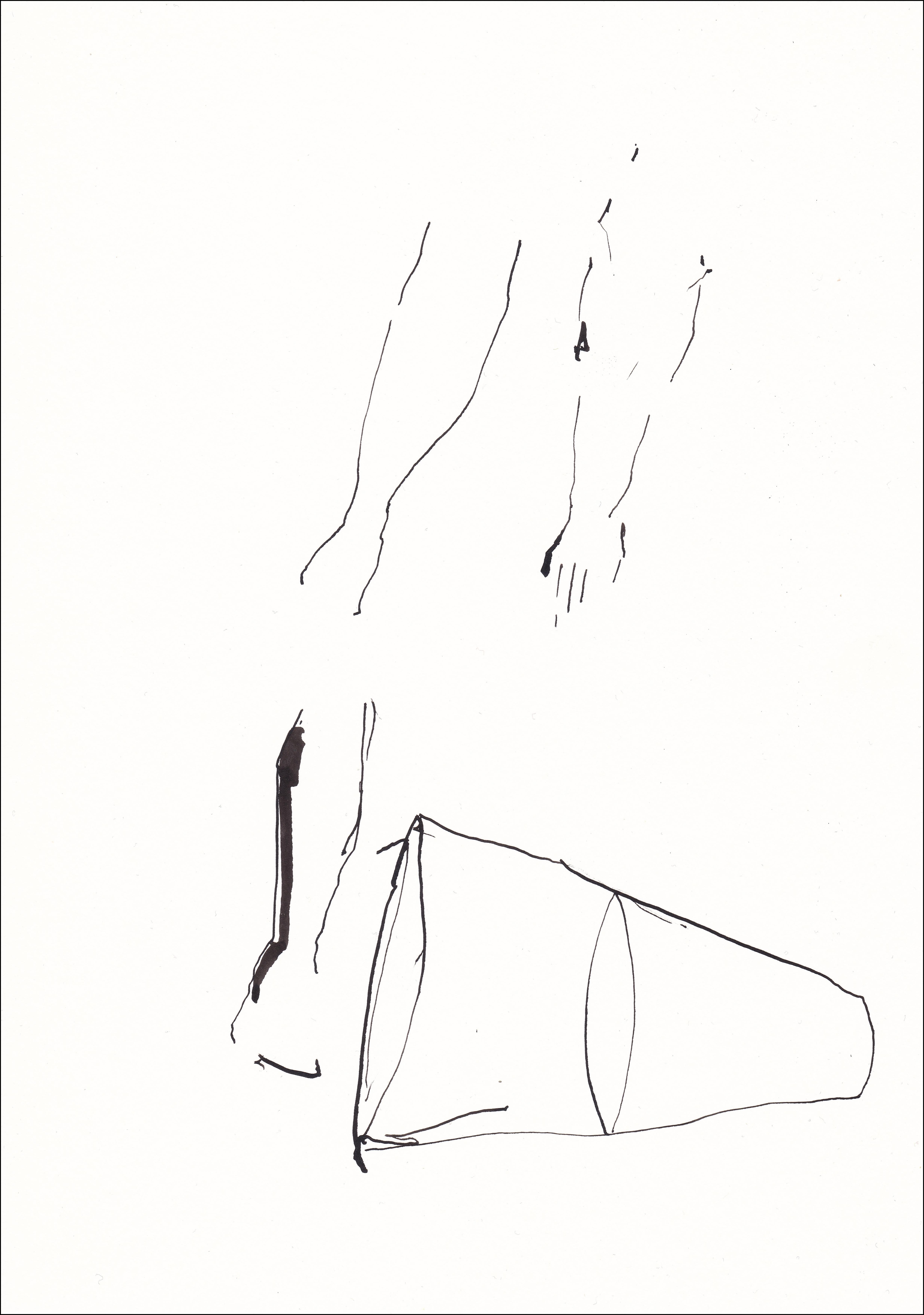 L CHAOUAT dessin 15 21x30 cm